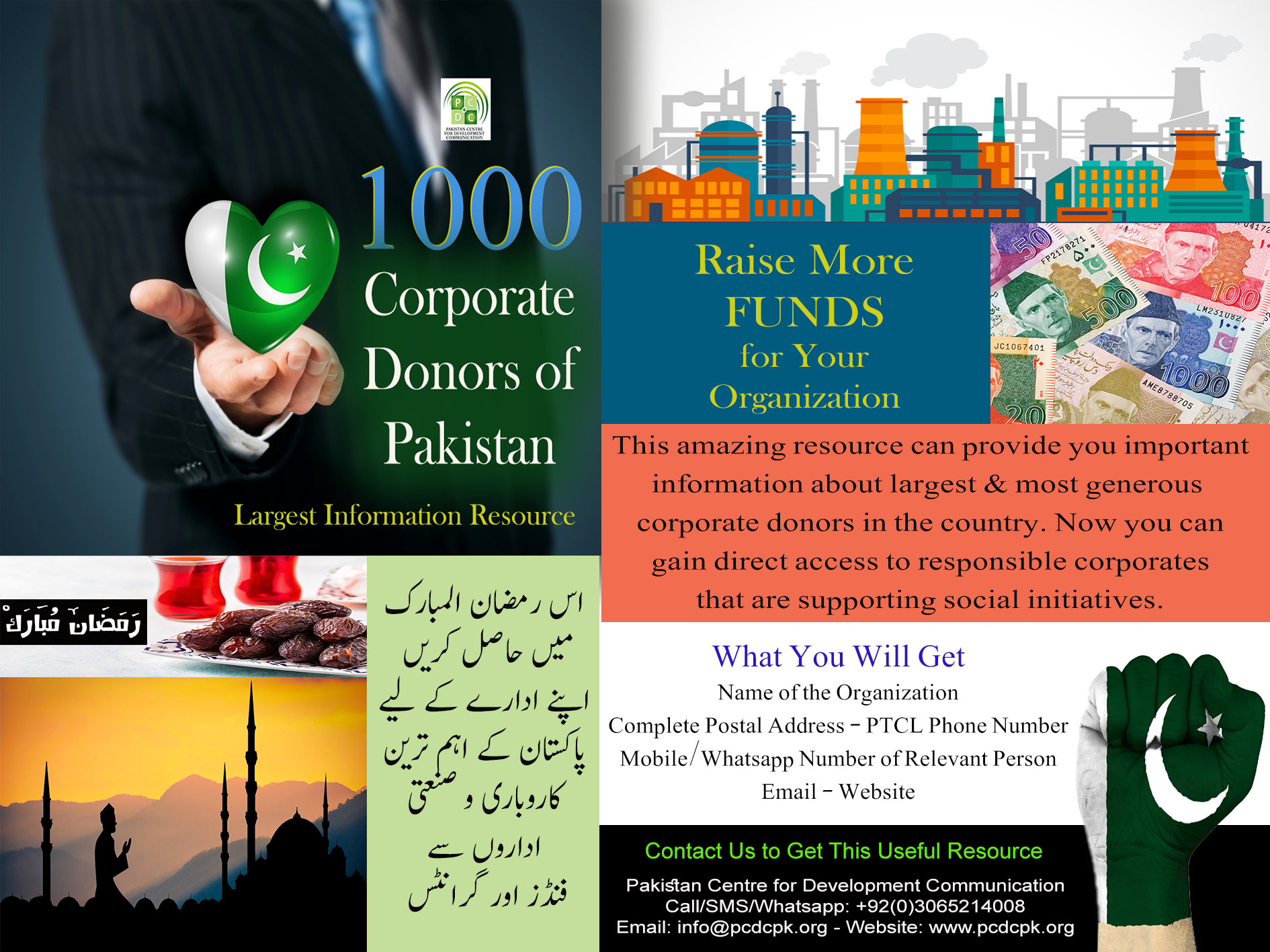 corporate donors directory