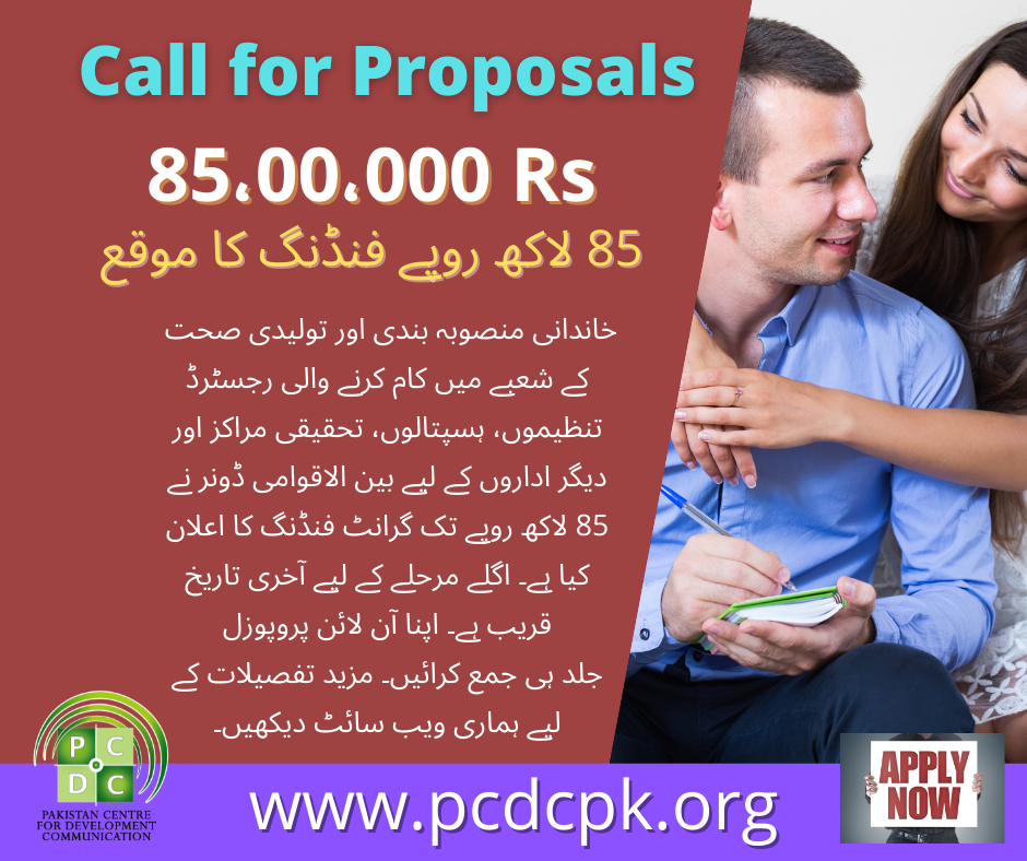 Call for Proposals (2)