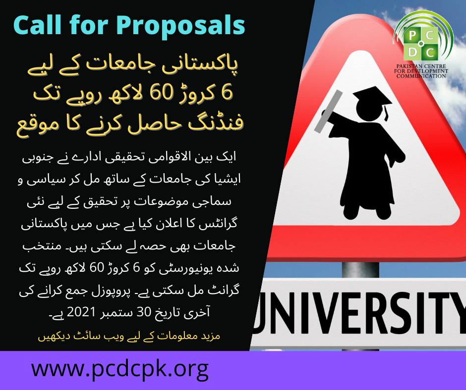 Call for Proposals (3)